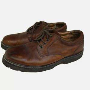 Dockers Mens Leather Work Casual Size 9.5